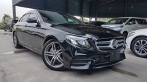 2018 MERCEDES-BENZ E-CLASS 2018 Mercedes E250 AMG W213 Demo Car 4 Camera 360 View Power Boot Burmester Sound System Full Leather Unregister for sale