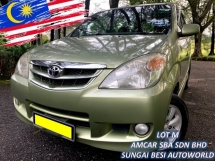 2010 TOYOTA AVANZA 1.5G (A) FACE LIFT VVTI 1 OWNER