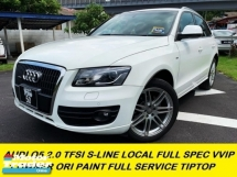 2012 AUDI Q5 2.0 TFSI QUATTRO S-LINE FACELIFT  P/BOOT P/START K/LESSS 8 SPEED TIP TOP ONE MALAY LADY OWNER