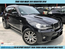 2011 BMW X5 XDRIVE 35I FACELIFT TWIN TURBO M SPORT SUNROOF LOW MILEAGE NICE PLATE