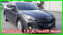 2015 MAZDA 3 CKD 1.6L SDN (GL) Super Condition Confirm Accident Free Confirm No Repair Need Worth Buy