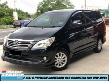 2014 TOYOTA INNOVA 2.0G (AT) G PREMIUM HIGH SPEC LOW MILEAGE ONE OWNER TIPTOP CONDITION LIKE NEW CAR MPVs