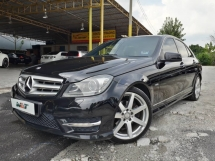 2011 MERCEDES-BENZ C-CLASS REG 12 1.8 (A) CGI AMG PACKED GOOD CONDITION ACC FREE RAYA PROMOTION PRICE.