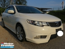 2013 KIA FORTE 1.6 (A) SX Push Start Paddle Shift Full Bodykit One Owner Accident Free Tip Top Like New