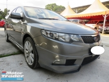 2013 KIA FORTE 1.6 (A) SX Full Leather Seat Full Bodykit Push Start Paddle Shift Accident Free Low Mileage Good Condition