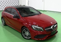 2016 MERCEDES-BENZ A-CLASS 2016 MERCEDES BENZ A180 AMG 1.6 TURBO UNREG JAPAN SPEC CAR SELLING PRICE ONLY ( RM 168,000.00 NEGO )