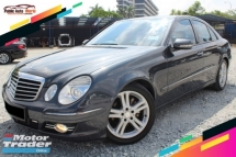 2008 MERCEDES-BENZ E-CLASS 200 K AVANTGARDE SPORTS (CBU)