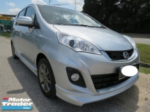 2016 PERODUA ALZA 1.5 (A) SE AV Bodykit CD DVD GPS Player Tip Top Condition Like New