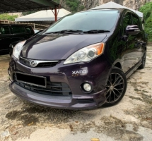 2014 PERODUA ALZA 1.5 ADVANCED ZHP 100% ORI ADVANCE LADY OWNER TIPTOP