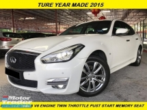 2015 INFINITI Q70 2.5 SPORT FULL SPEC LUXURY PREMIUM ES250 IS250 C200 E250 320 325 520 525