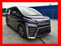 2018 TOYOTA VELLFIRE 2.5ZG NEW FACELIFT - UNREG - READY TO VIEW