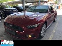 2016 FORD MUSTANG 2.3 ECO BOOST TURBOCHARGED 310 HP SEMI AUTO 6 SPEED DOHC 16 VALVE REVERSE CAMERA ELECTRIC SEATS