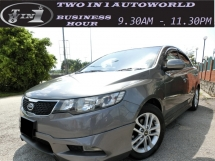 2011 KIA FORTE 1.6 (A) F-LOAN / 6SPEED / FUEL SAVE / LOW MILEAGE