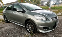 2012 TOYOTA VIOS 1.5 (AT) VVTI ENGINE SAVE PETROL / TRD BODYKIT / TIPTOP CONDITION