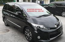 2016 TOYOTA ESTIMA 2016 TOYOTA ESTIMA 2.4 AERAS PREMIUM JAPAN SPEC UNREG CAR SELLING PRICE ( RM 175,000.00 NEGO ) BLACK