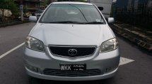 2004 TOYOTA VIOS 1.5 (AT) Like New TipTop Condition
