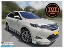 2015 TOYOTA HARRIER 2.0 (A) Premium Spec Panoramic Roof Power  Boot Free 1 Year Warranty