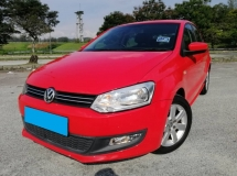 2014 VOLKSWAGEN POLO 1.6 (A) HATCHBACK FULL SERVICE RECORD