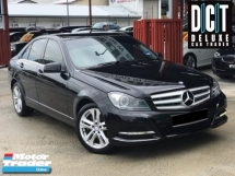 2013 MERCEDES-BENZ C-CLASS C200 CGI BLUE EFFICIENCY AVANTGARDE HIGH SPEC LOW MILEAGE ONE OWNER SHOWROOM CAR CONDITION