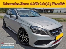 2016 MERCEDES-BENZ A250 2.0 (A) Sport Facelift Under Mercedes Warranty Full Service