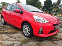 2012 TOYOTA PRIUS C 1.5 AUTO HYBRID ENGINE / PUSH START BUTTON / KEYLESS ENTRY / SUPER SAVE PETROL