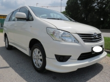 2014 TOYOTA INNOVA 2.0 (AT) Service Record Full Bodykit One Owner Accident Free Tip Top Condition