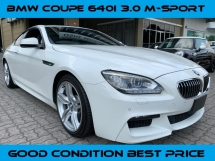 2013 BMW 640i 3.0 M Sport Coupe