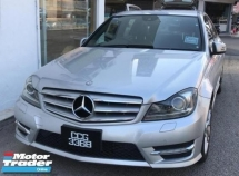 2012 MERCEDES-BENZ C-CLASS C200 CGI BLUE EFFICIENCY AVANTGARDE