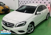 2015 MERCEDES-BENZ A-CLASS 2015 MERCEDES BENZ A180 1.6 SE UNREG JAPAN SPEC  CAR SELLING PRICE ONLY ( RM 118000.00 NEGO )