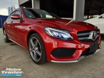 2015 MERCEDES-BENZ C-CLASS C200 AMG HUD PB Radar Safety Unreg Sale Offer