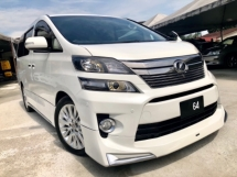 2013 TOYOTA VELLFIRE 2.4 GOLDEN EYES (A) MODELLISTA FULL BODYKIT