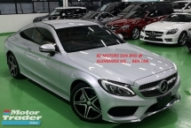 2016 MERCEDES-BENZ C-CLASS 2016 MERCEDES BENZ C180 1.6 TURBO COUPE SPORTS AMG JAPAN SPEC CAR SELLING PRICE ONLY RM 229000.00