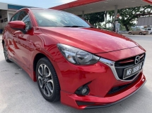 2015 MAZDA 2 1.5 HATCH BACK - 1 LADY OWNER-ORIGINAL BODY PAINT-FULL SERVICE BY MAZDA 67K KM DONE-FREE TEST DRIVE