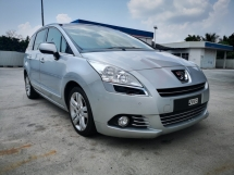 2013 PEUGEOT 5008 1.6 THP TURBO (A) DVD
