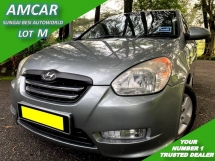 2009 HYUNDAI ACCENT 1.6 (A) CVVT LEATHER PREMIUM SPEC