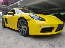 2018 PORSCHE CAYMAN 718 2.0 TURBO (UNREG) HIGH SPEC RACING PACKAGE