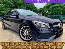 2018 MERCEDES-BENZ CLA 200 AMG SUPER LOW MILEAGE UNDER WARRANTY NICE NUMBER PLATE