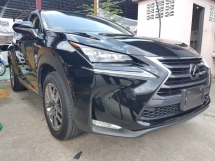 2014 LEXUS NX 200T 2.O TURBO 2014 (UNREG) POWER BOOT DISTRONIC PRE CRASH