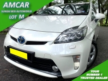 2012 TOYOTA PRIUS 1.8 HYBRID LUXURY (A) FULL SERVICE WARRANTY