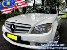 2008 MERCEDES-BENZ C-CLASS C200 KOMPRESSOR AVANTGARDE 1.8 (A) LOCAL W204