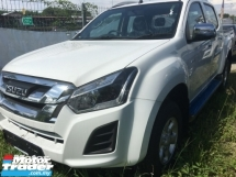 2019 ISUZU D-MAX 2.5L 4X4 DOUBLE CAB - Auto Standard FREE Original Fog Light : August 2019 Promotion