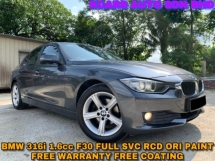 2015 BMW 3 SERIES 316I ORI PAINT FREE WARRANTY FREE COATING