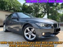 2015 BMW 3 SERIES 316I ORI PAINT FREE WARRANTY FREE COATING