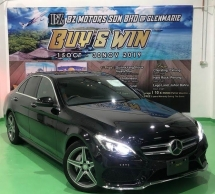 2015 MERCEDES-BENZ C-CLASS 2015 MERCEDES C200 2.0 AMG SPEC ORIGINAL FROM JAPAN UNREG CAR SELLING PRICE RM 19200.00 NEGO