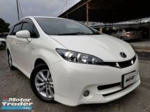 2009 TOYOTA WISH REG 13 1.8 (A) PUSH START 1 CAREFUL OWNER GOOD CONDITION RAYA PROMOTION PRICE.