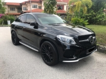 2016 MERCEDES-BENZ GLE GLE 43 AMG Coupe