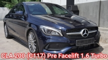 2018 MERCEDES-BENZ CLA 200 (C117) Pre Facelift (CBU) Import New Car By C&C Ori 6k Km Mileage Warranty Until 2021 Really Like New Car Condition Worth Buy