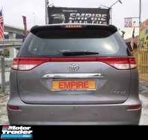 2015 TOYOTA ESTIMA 2.4 GL ( A ) NEW FACELIFT !! CBU IMPORT NEW BY UMW TOYOTA !! VVT-I 7 SEATER MPV !! PREMIUM FULL HIGH SPECS COMES WITH PUSH START / 2 X POWER DOORS / FULL LEATHER SEATS / ELETRICAL SEAT / REVERSE CAMERA / WALNUT INTERIOR AND ETC !! ( WX 3872 X ) 1 CAREFUL