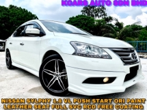 2015 NISSAN SYLPHY 1.8 VL F/SPEC FULL B/KIT FREE COATING