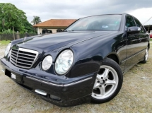 1997 MERCEDES-BENZ E-CLASS E230 AVANTGARDE LEATHER SEATS NICE NUMBER 3111 SUNROOF TIP TOP NEW PAINT !!!!!!!